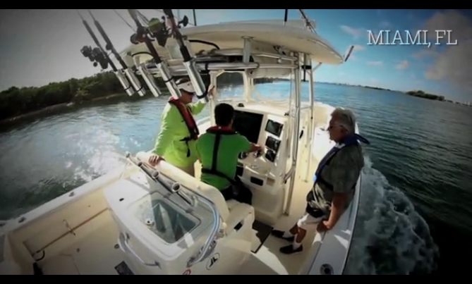 Boating Means Freedom for Blind Florida Boater