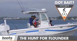 Got Bait? The Hunt for Flounder